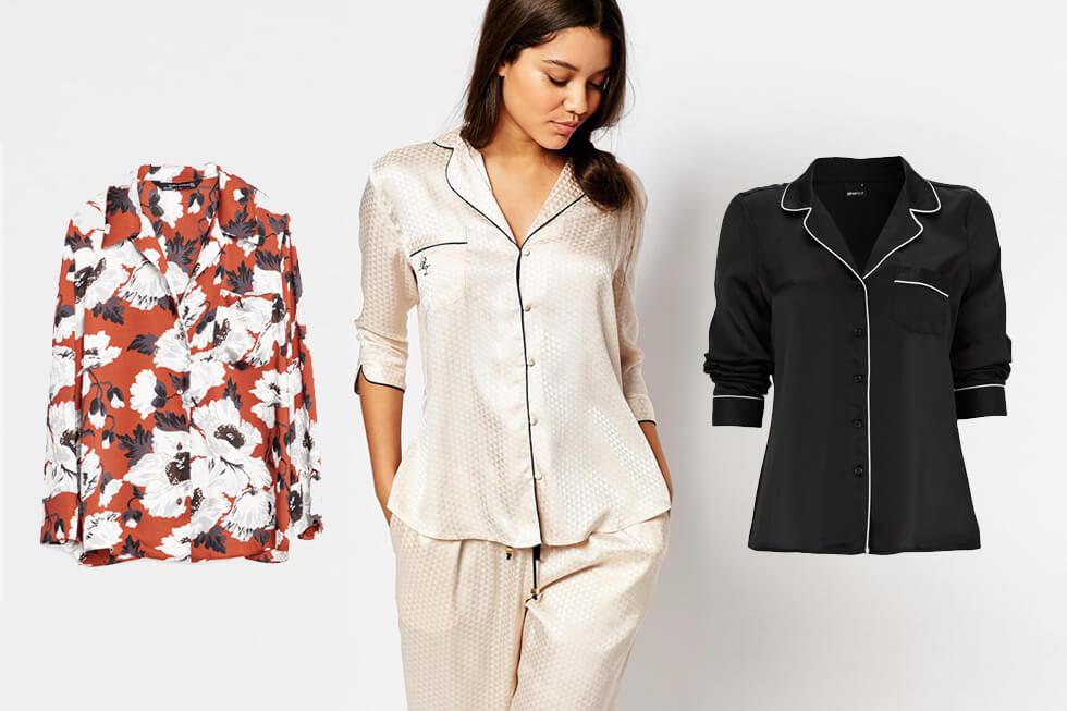 Pyjamasskjortor Trend 2016