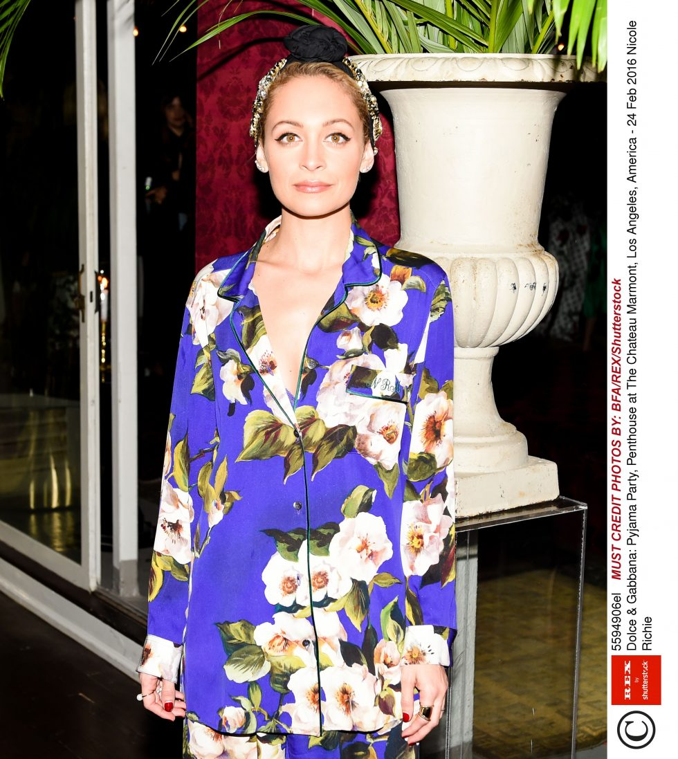 Dolce & Gabbana: Pyjama Party, Penthouse at The Chateau Marmont, Los Angeles, America - 24 Feb 2016