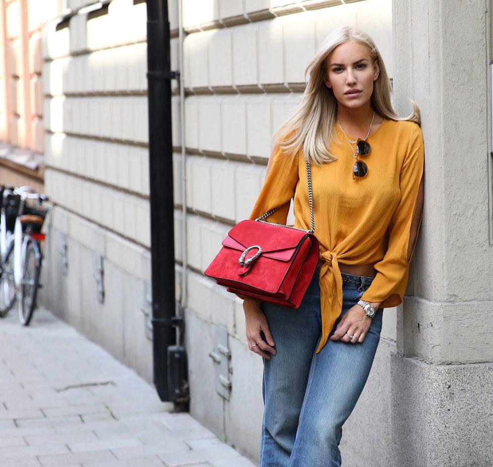 Gucci-Röd-Väska