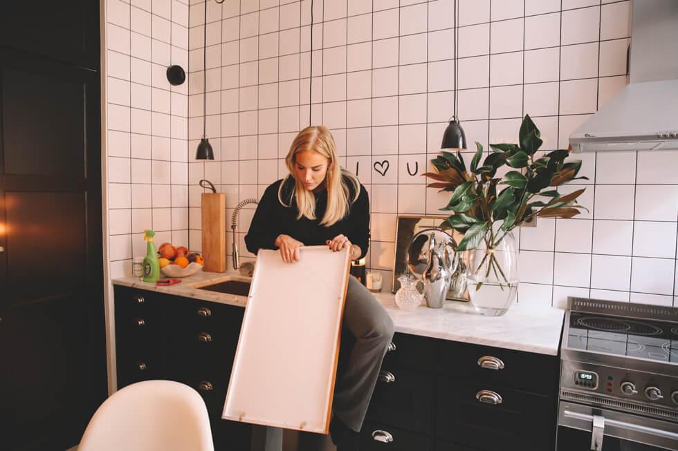 Hemma hos Linn Eklund! Petra Tungården Metro Mode