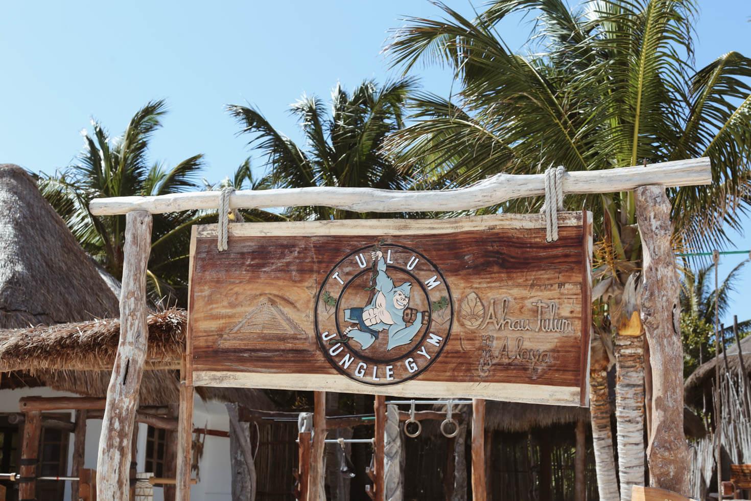 Tulum Beach Beach Gym