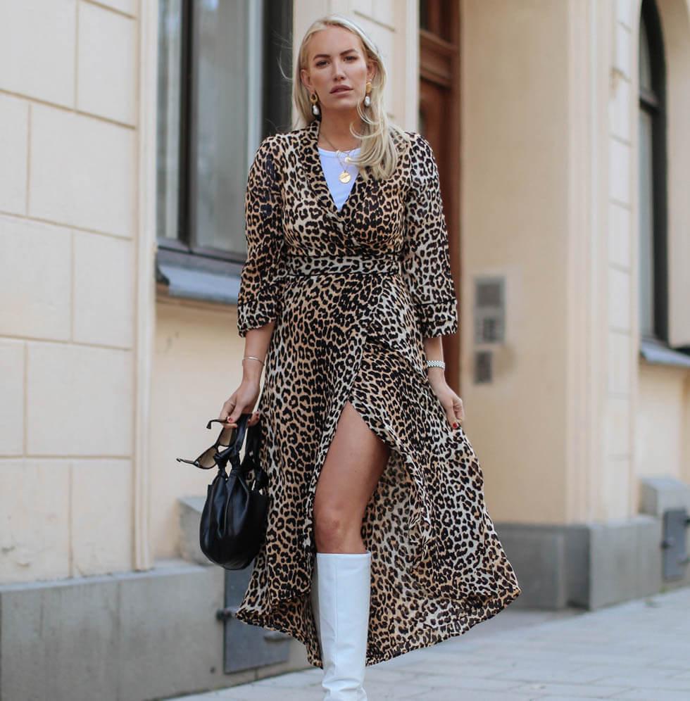 Ganni Leopard