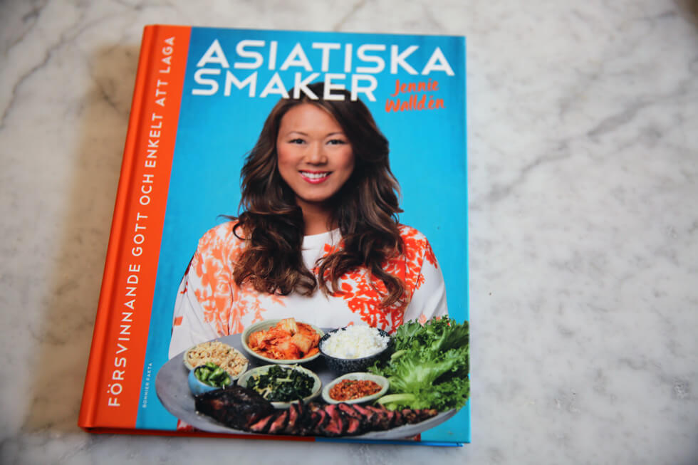 asiatiska smaker jennie walldén