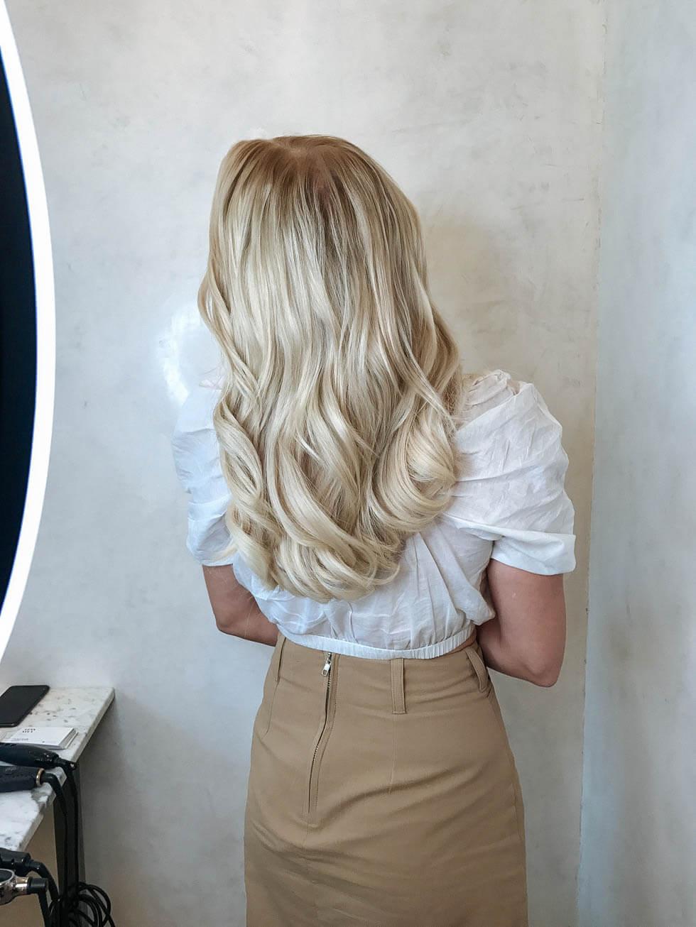 Hairtalk-Hairband sa faster man det