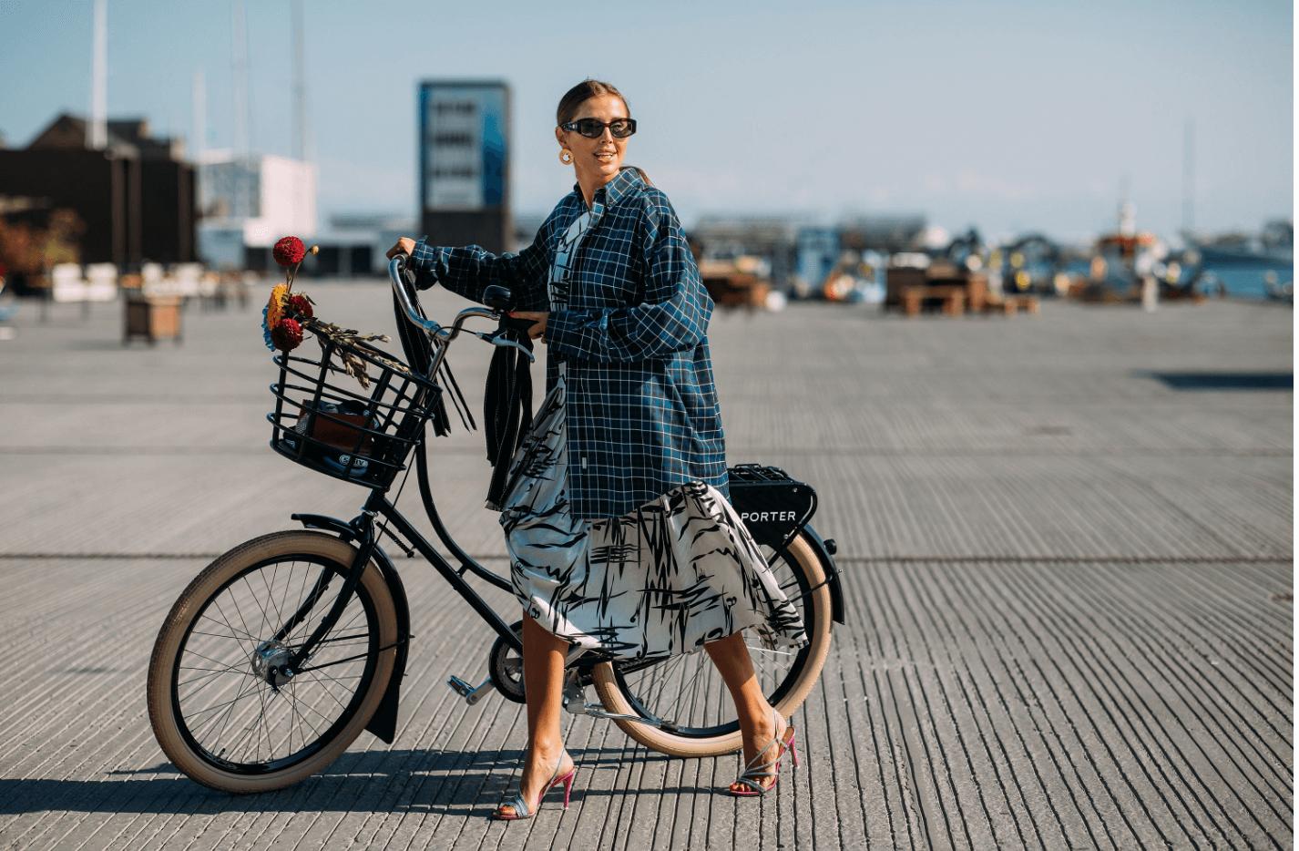 Snyggast klädda på köpenhamns modevecka