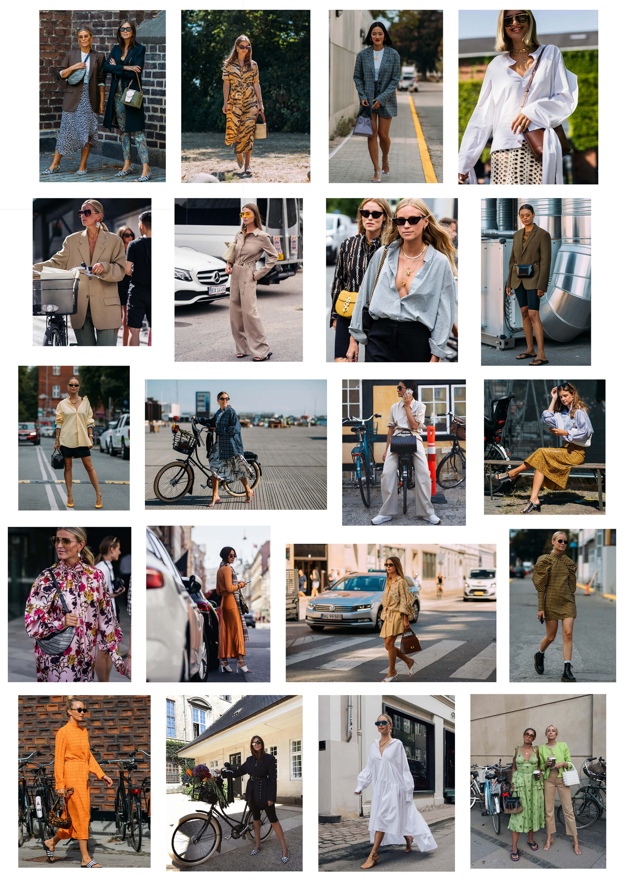 Bästa klädda på köpenhamns modevecka