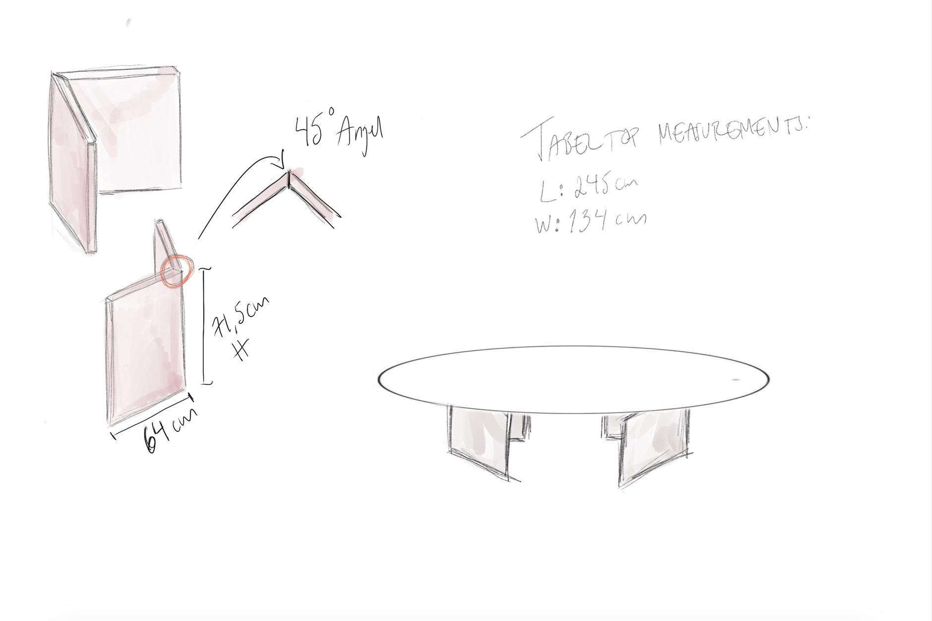 Petra Tungarden matbord
