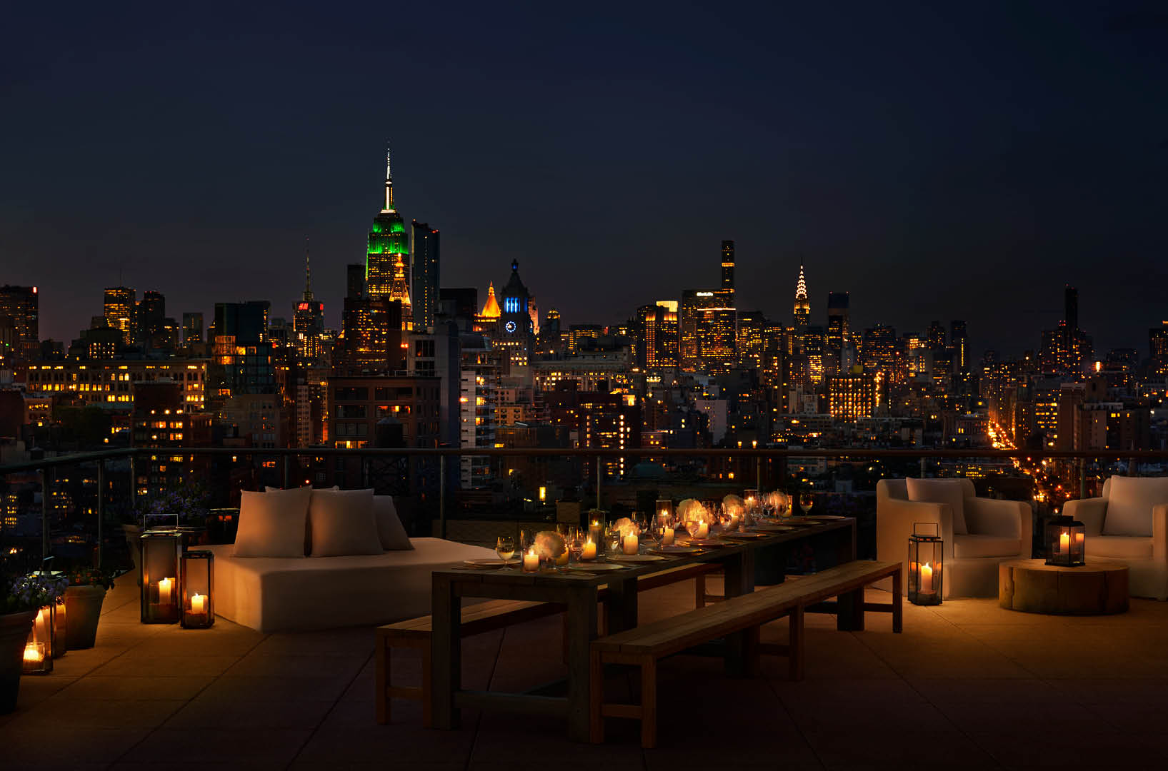 Public Nyc rooftop