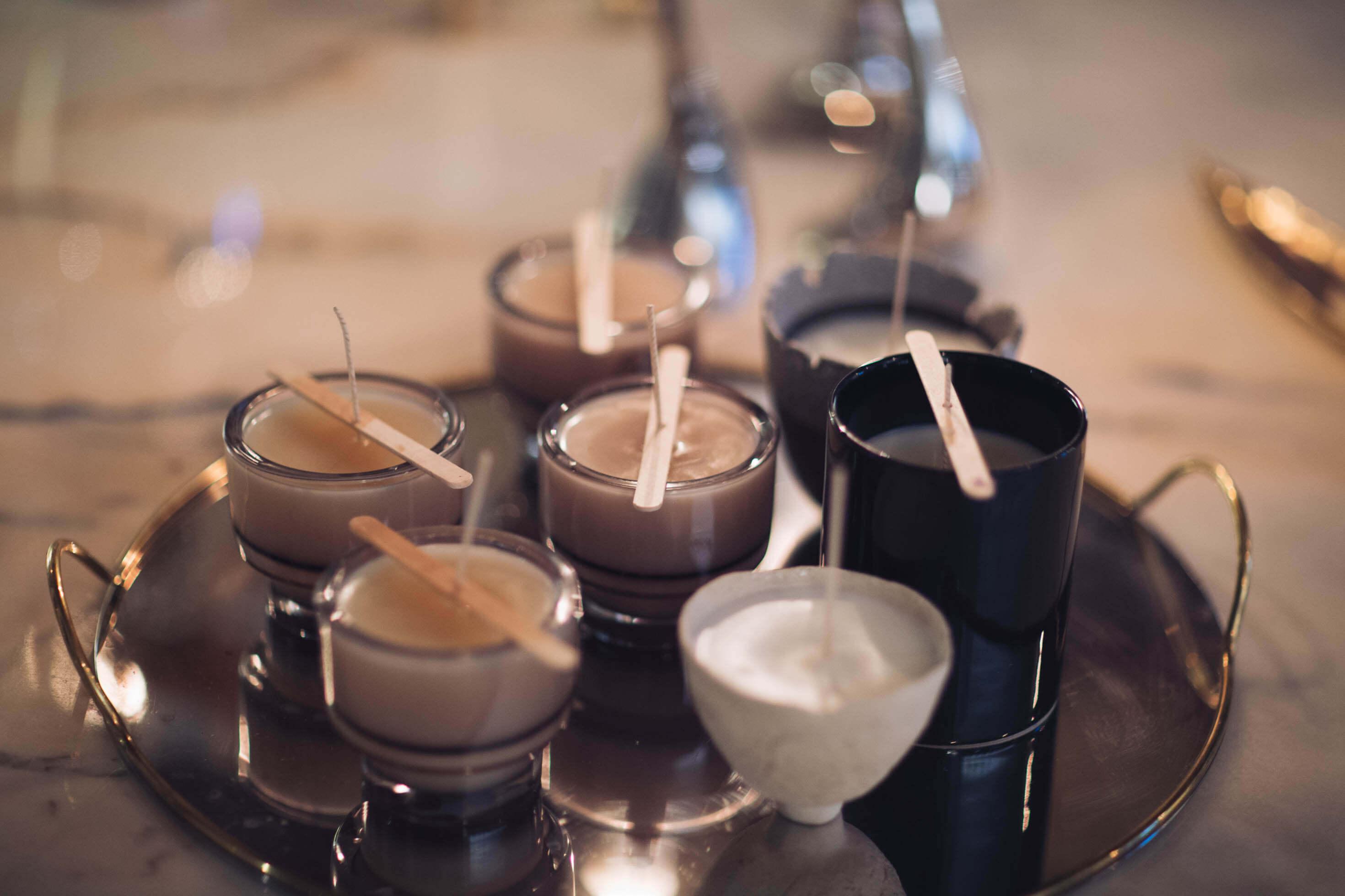 Egna ljus candelize