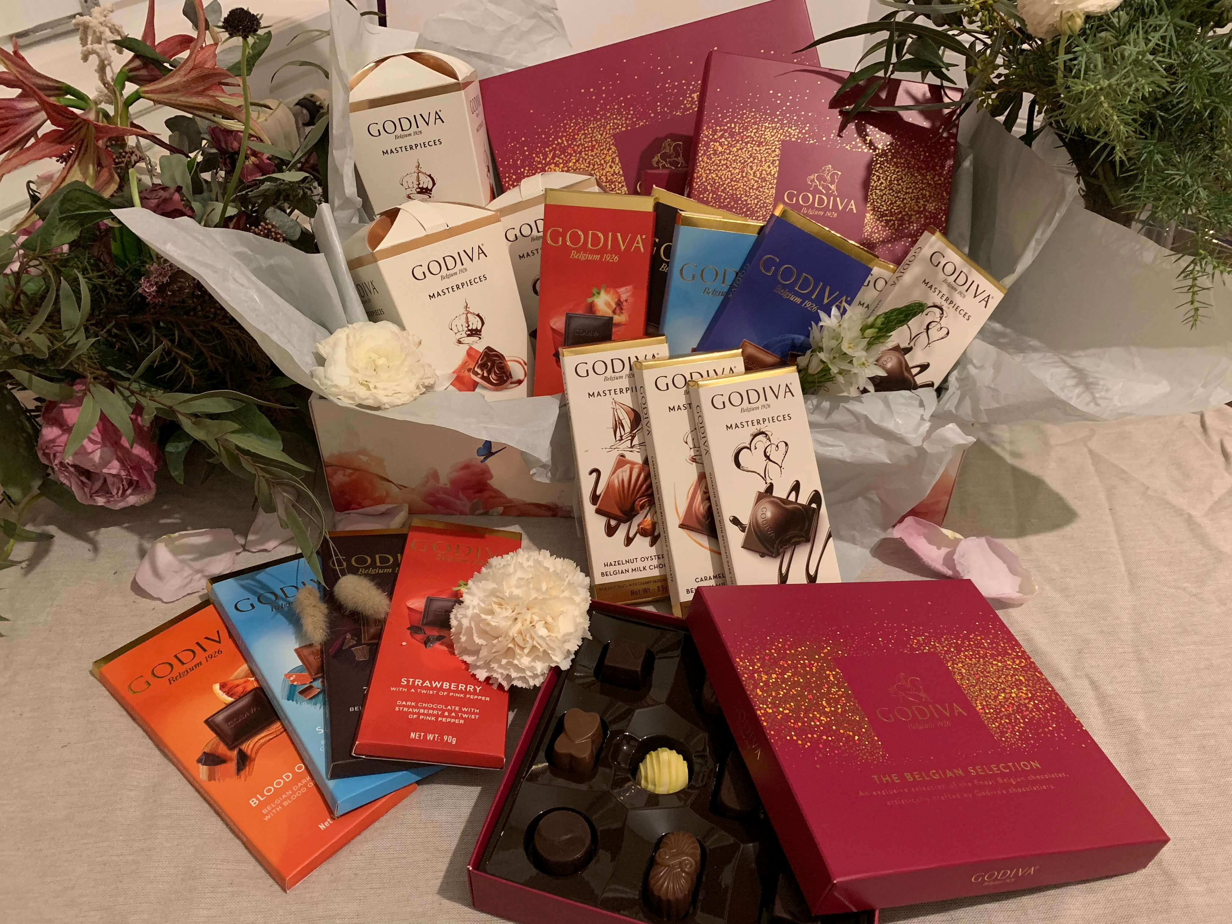 Godiva Choklad