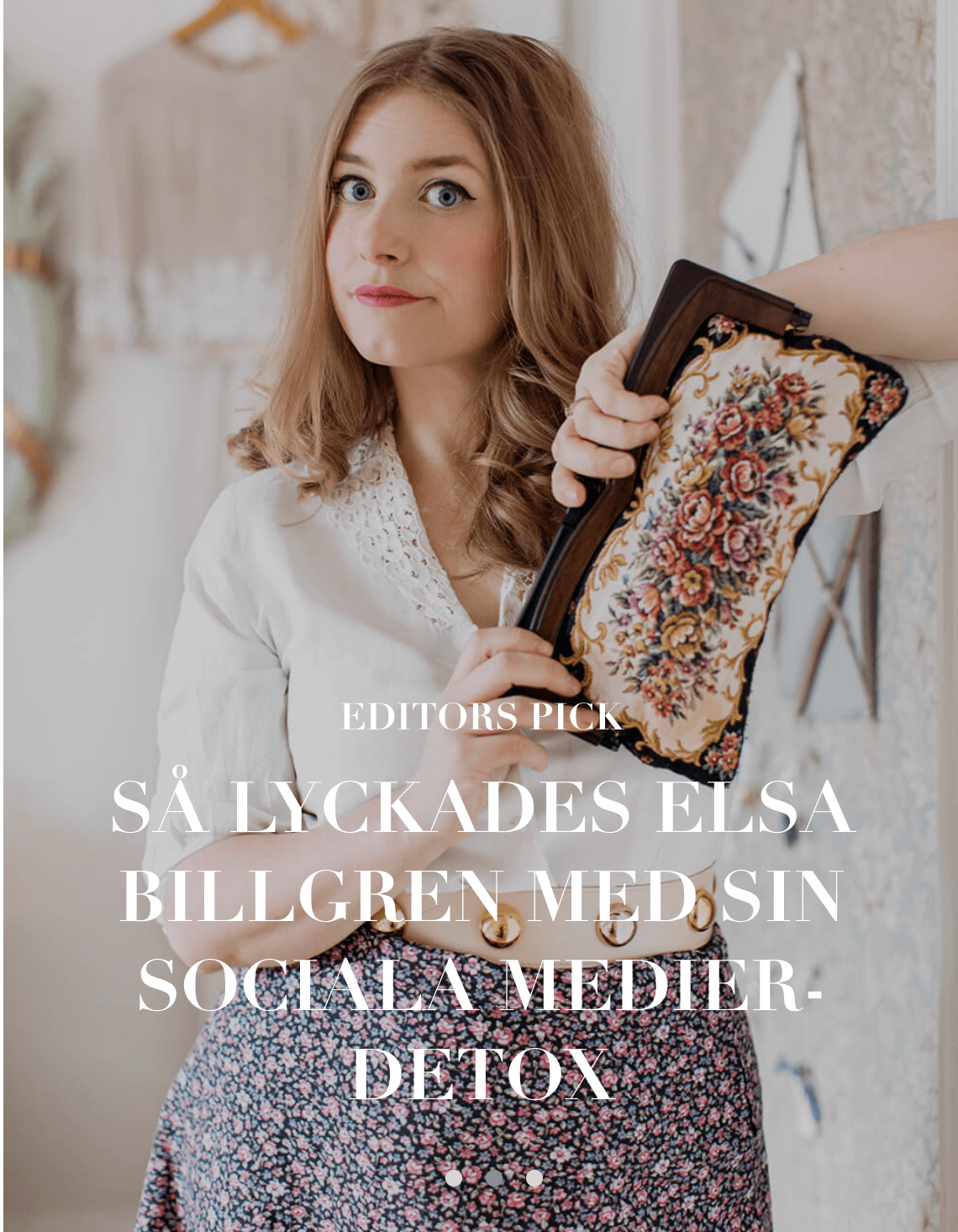 Elsa Billgren Social Media Detox
