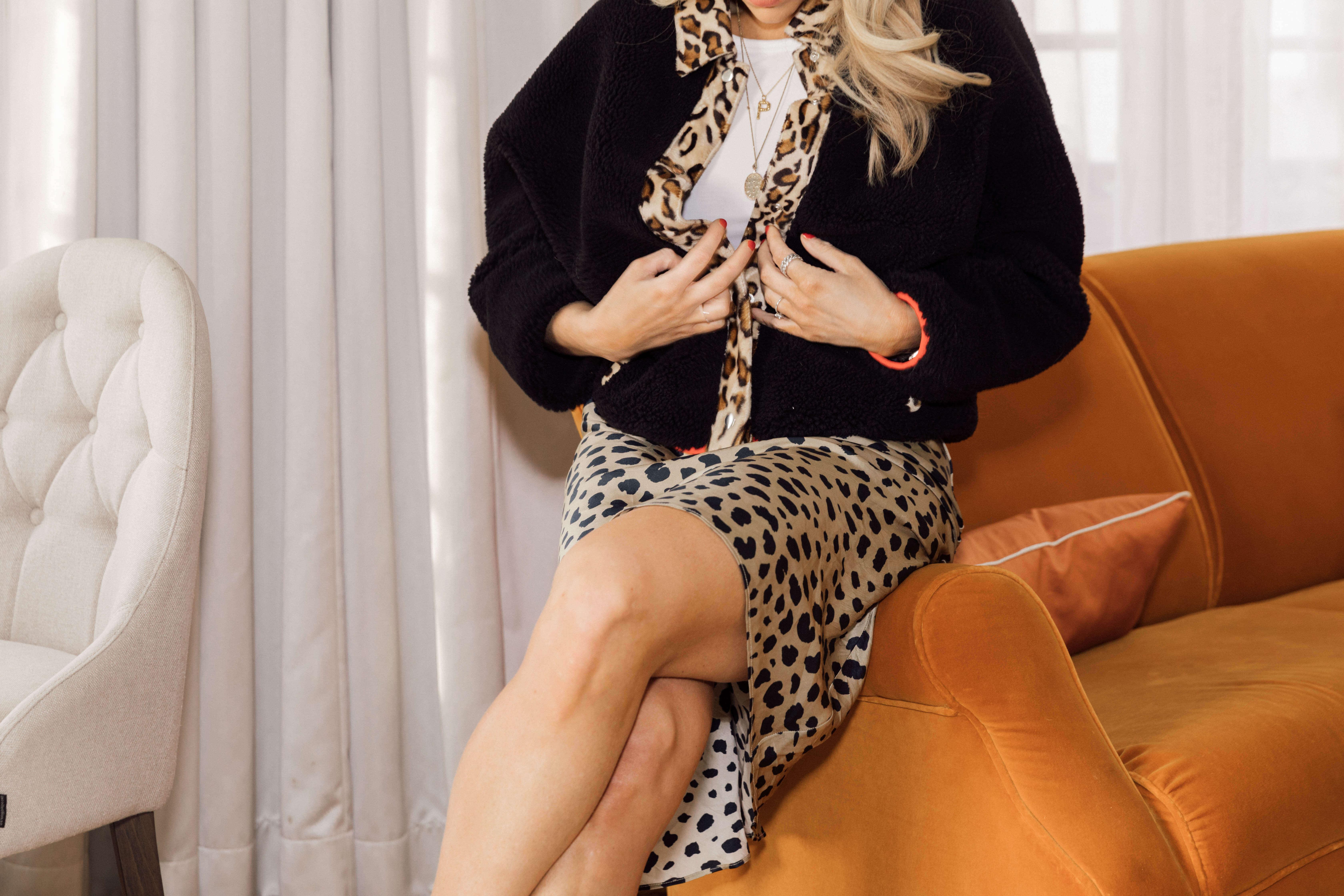 Leopard plagg