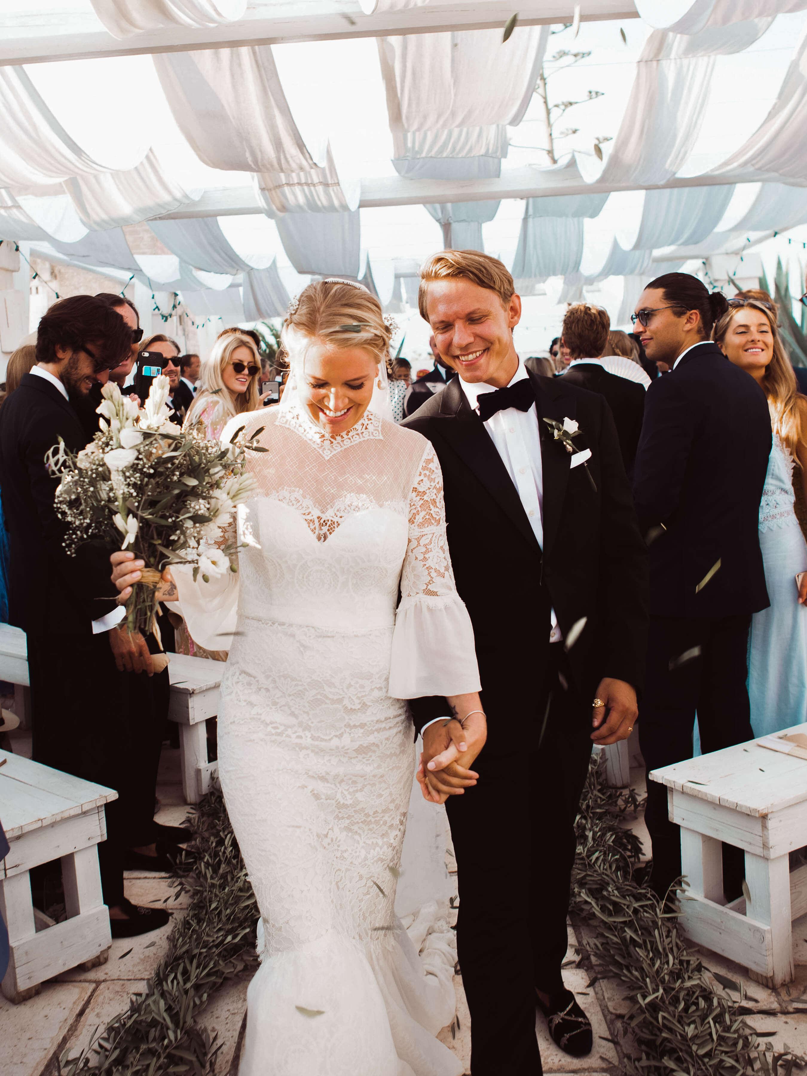 Camilla och Henrik von Blixen bjöd in sina gäster till ett tre dagars  bröllop till Puglia e411cd42cea90