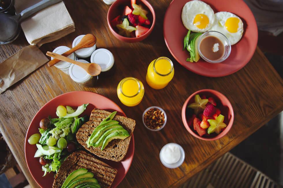 Hotelito AzulTulum Breakfast