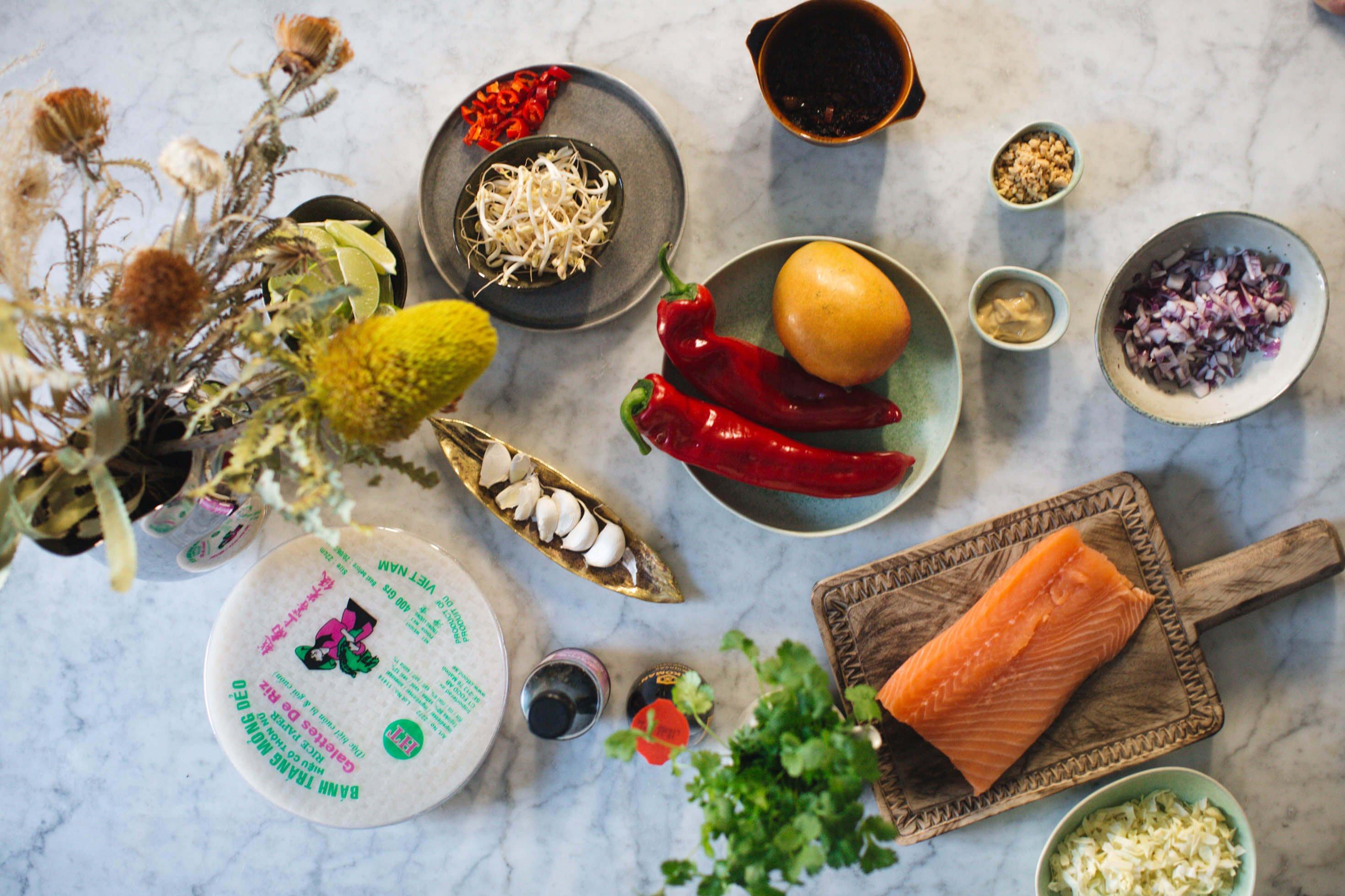 vietnamesiska varrullar recept