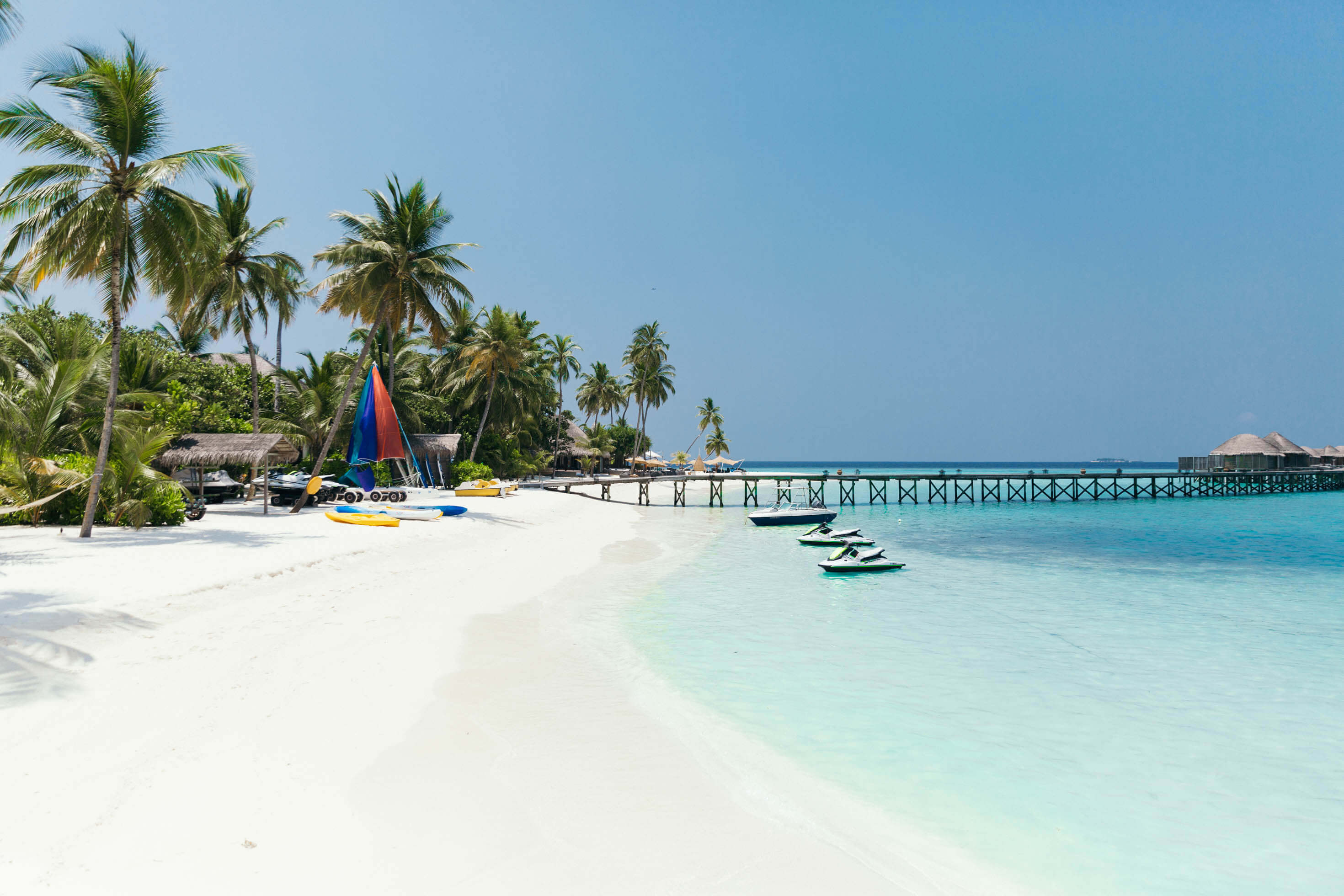 Maldiverna Halaveli Constance Hotel