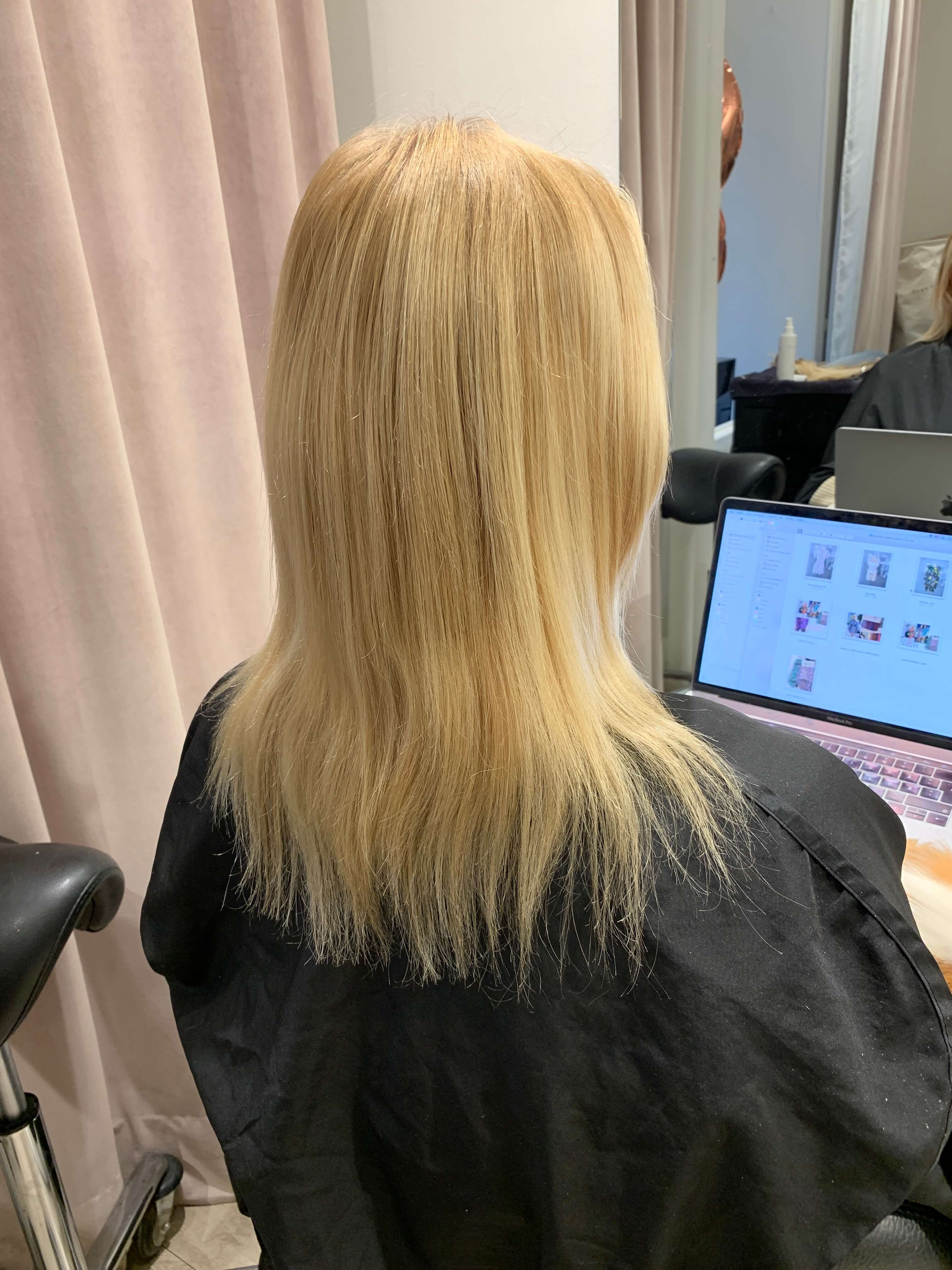 Harirtalk extensions before and after