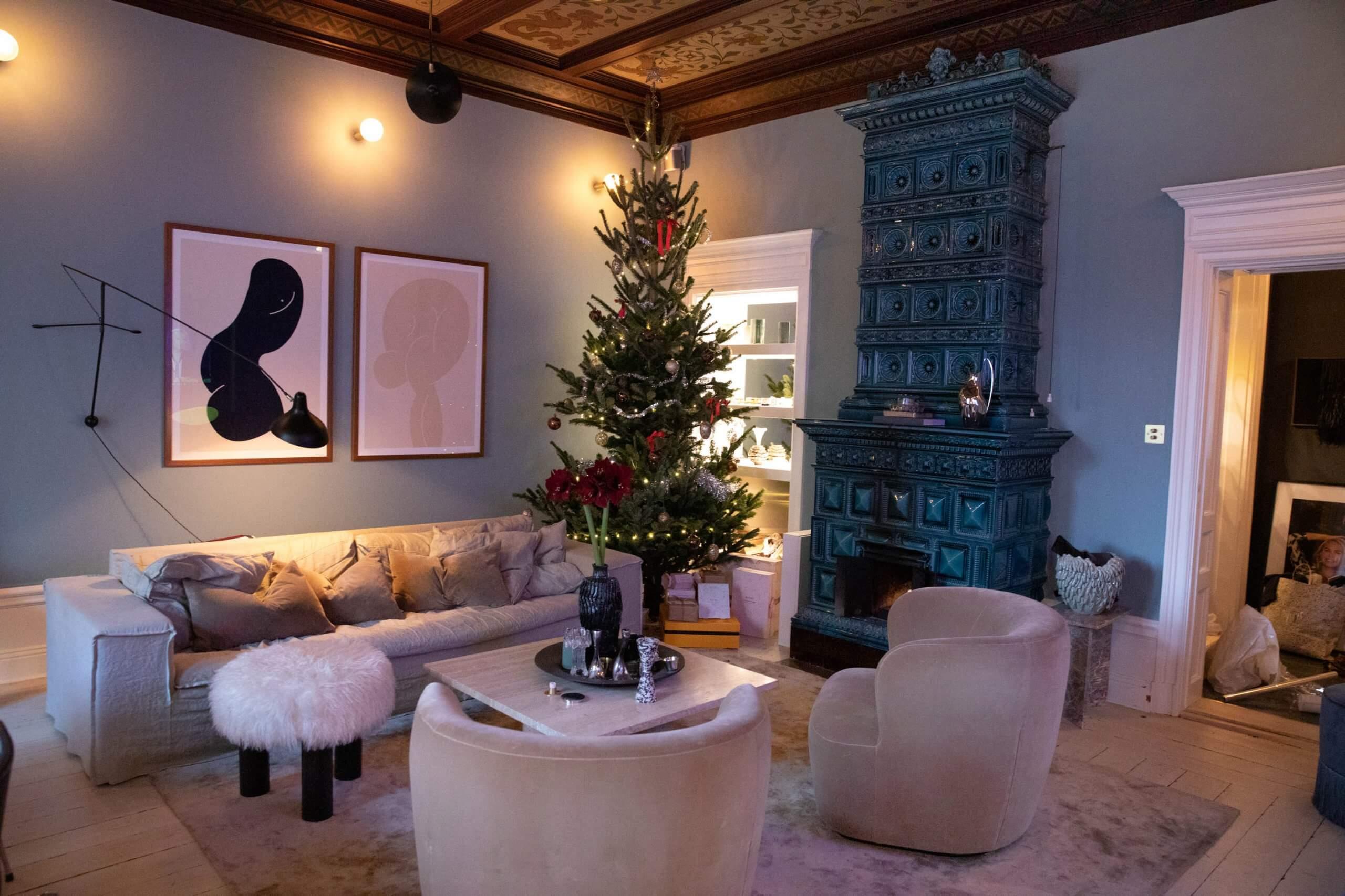 Petra Tungarden lagenhet julgran